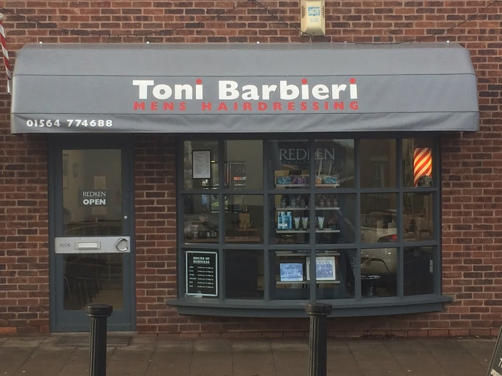 Toni Barbieri – Men's Barbers Knowle